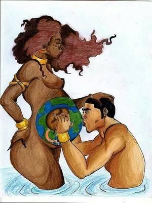 do hispanic men like black women
