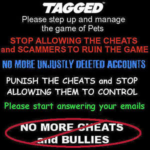 PETS: If You Cant WIN then CHEAT - Tagged